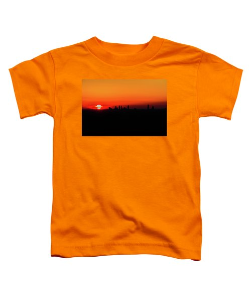 Sunset Over Atlanta Toddler T-Shirt