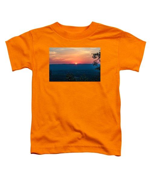 Sunset Over Easthampton Toddler T-Shirt