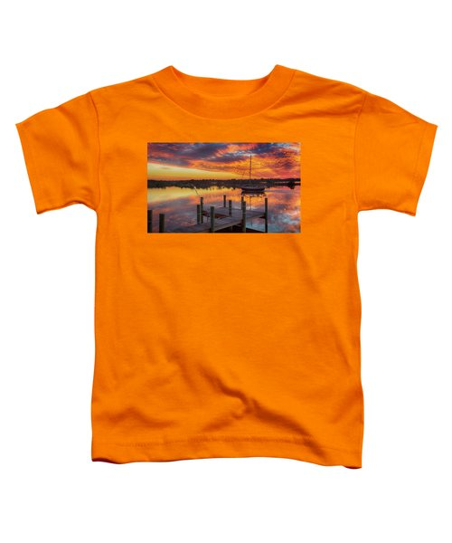 Sunset Sail Toddler T-Shirt
