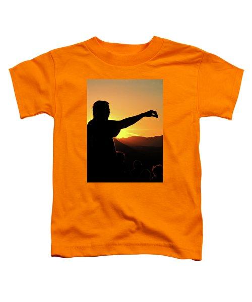 Sunset Silhouette Toddler T-Shirt
