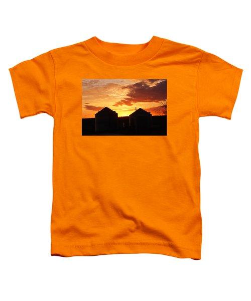 Sunset Silos Toddler T-Shirt