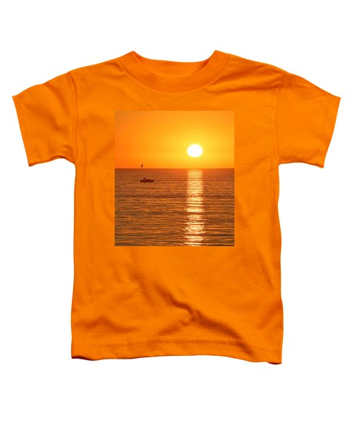 Sunset Solitude Toddler T-Shirt