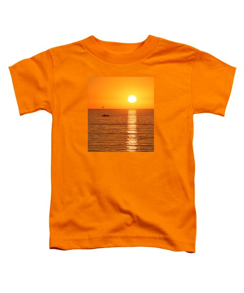 Sunset Solitude Toddler T-Shirt