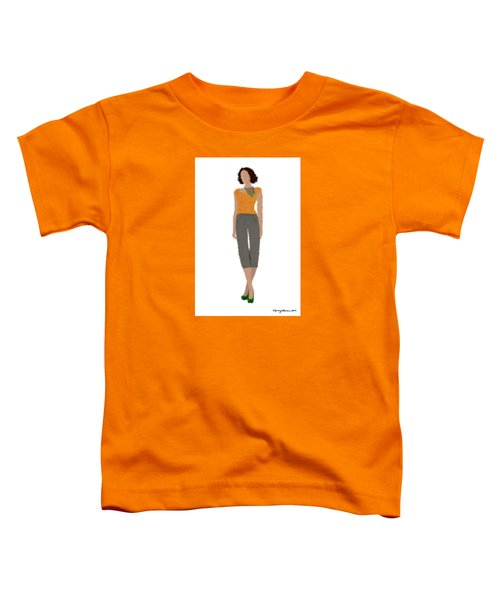 Toddler T-Shirt featuring the digital art Susan by Nancy Levan