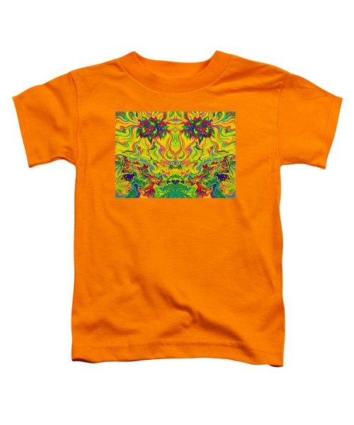 Swampy Garden Mirror Toddler T-Shirt