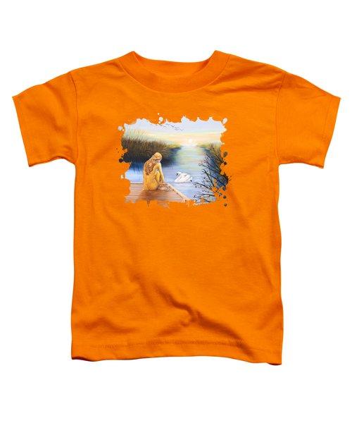 Swan Bride T-shirt Toddler T-Shirt