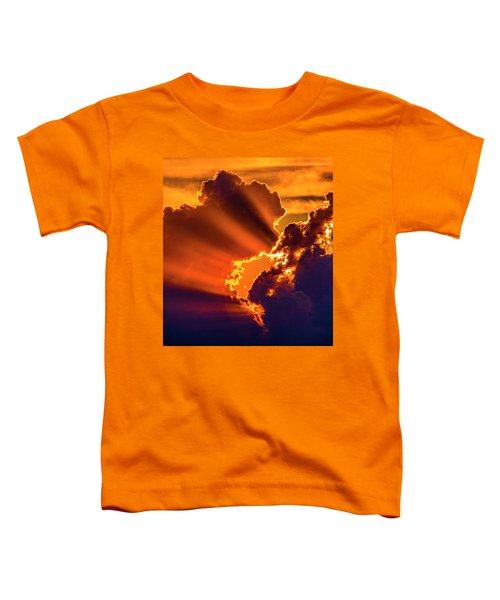 Sweet Nebraska Crepuscular Rays 010 Toddler T-Shirt