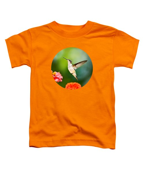 Sweet Promise Hummingbird Toddler T-Shirt by Christina Rollo