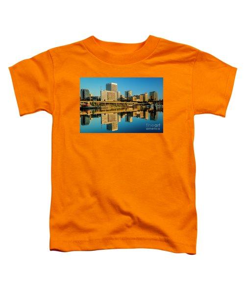 Tacoma's Waterfront,washington Toddler T-Shirt