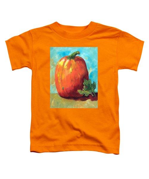 Tall Pumpkin Toddler T-Shirt