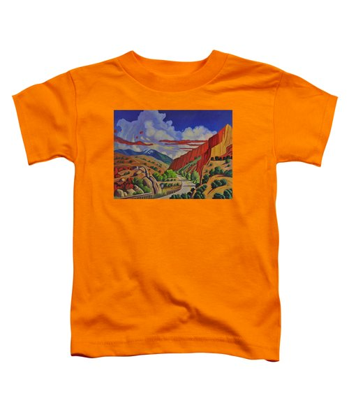 Taos Gorge Journey Toddler T-Shirt