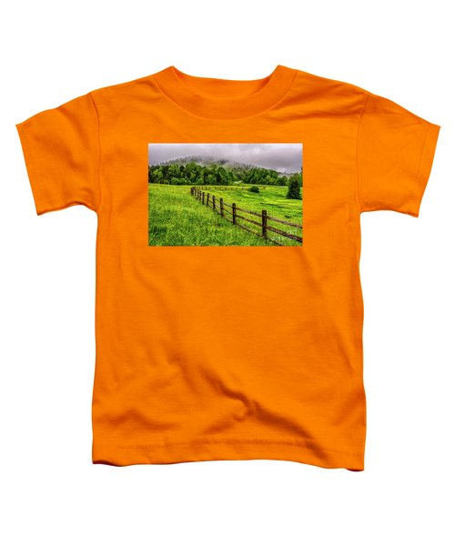Tea Creek Meadow And Buttercups Toddler T-Shirt