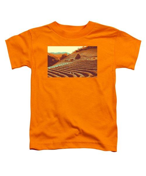 Tea Field Toddler T-Shirt