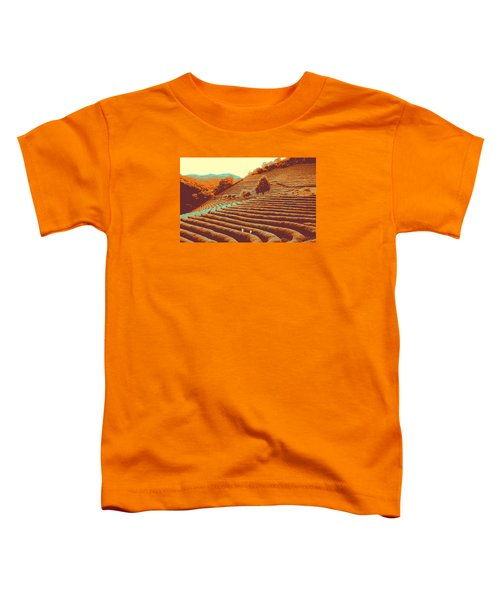 Tea Field Toddler T-Shirt