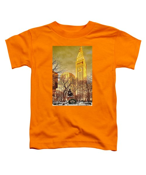 Ten Past Four At Madison Square Park Toddler T-Shirt