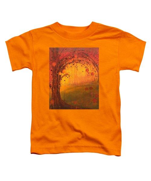Textured Fall - Tree Series Toddler T-Shirt
