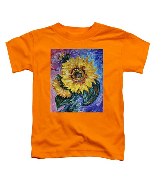 That Sunflower From The Sunflower State Toddler T-Shirt