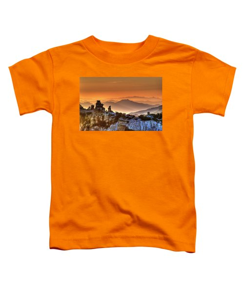The Ahh Moment Toddler T-Shirt by Lynn Geoffroy