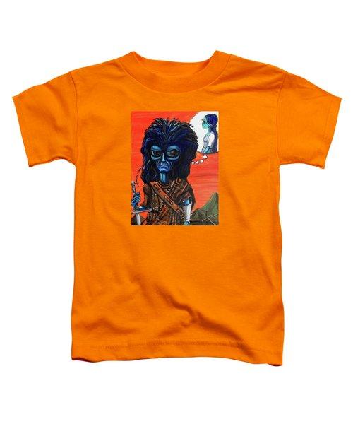 The Alien Braveheart Toddler T-Shirt