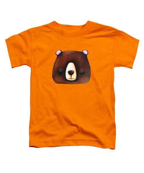 The Big Brown Bear Toddler T-Shirt