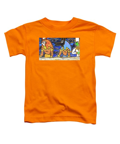 The Boat Of Ausar Passing Through The Underworld Toddler T-Shirt