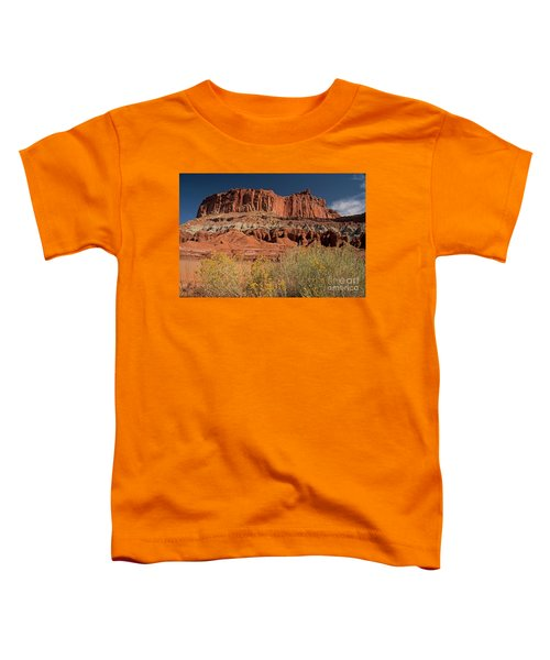 The Castle In Capital Reef Toddler T-Shirt
