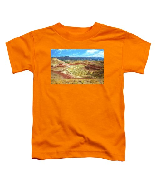 The Colorful Painted Hills In Eastern Oregon Toddler T-Shirt