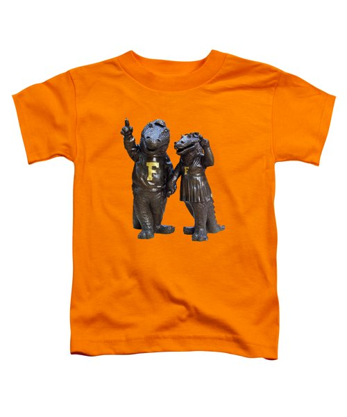 The Gators Transparent For T Shirts Toddler T-Shirt by D Hackett