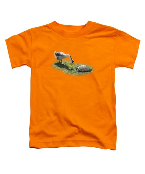 The Goose And The Turtle Toddler T-Shirt