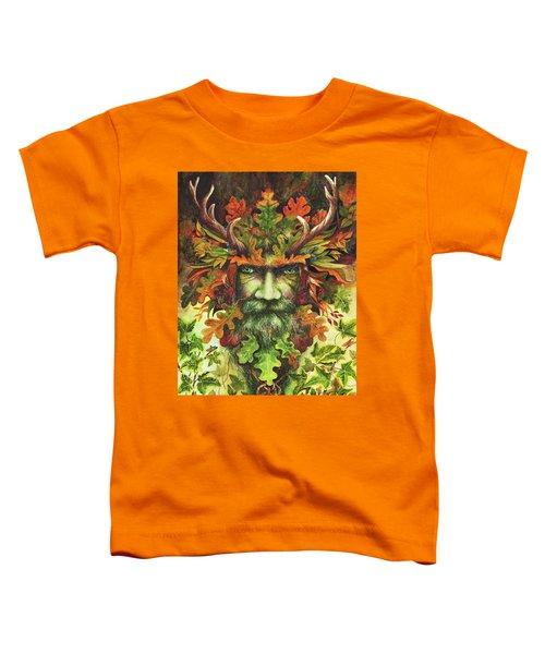 The Green Man Toddler T-Shirt