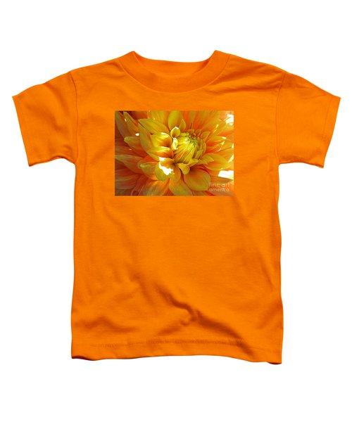 The Heart Of A Dahlia Toddler T-Shirt
