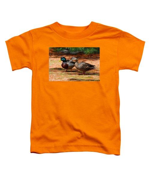 The Honeymooners - Mallard Ducks  Toddler T-Shirt