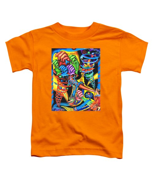 The Infinite Expansion Of A Cosmic Revelation Toddler T-Shirt