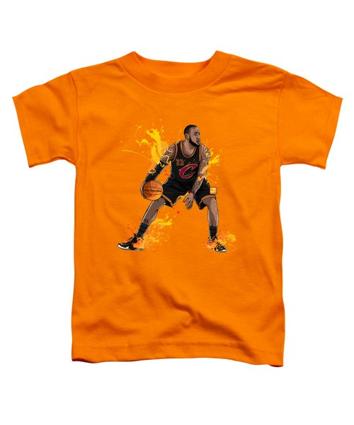 The King James Toddler T-Shirt by Akyanyme