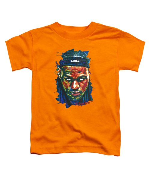The Lebron Death Stare Toddler T-Shirt