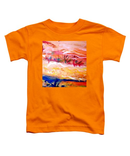 The Living Dunes Toddler T-Shirt by Winsome Gunning