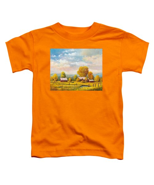 The Lonely Horse Toddler T-Shirt