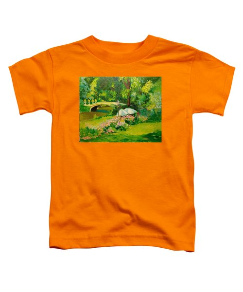 The Magnificent Bow Bridge Toddler T-Shirt