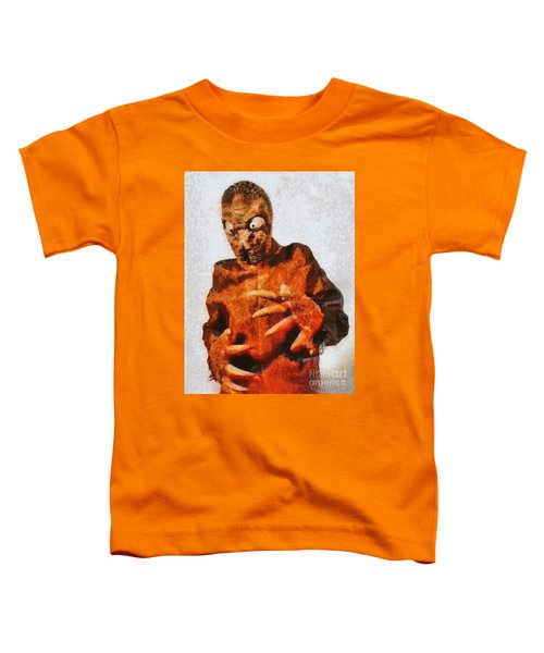 The Mole People, Vintage Sci-fi Toddler T-Shirt