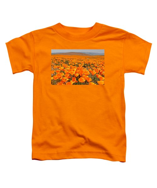 The Poppy Fields - Antelope Valley Toddler T-Shirt