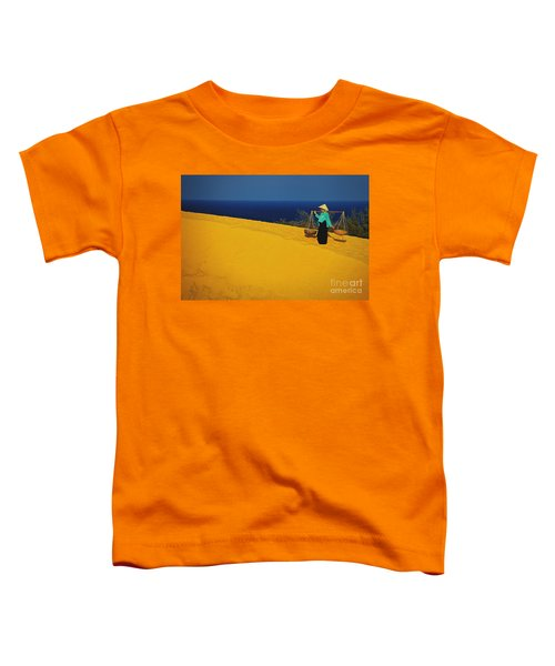 The Red San Dunes Of Mui Ne Vietnam Toddler T-Shirt