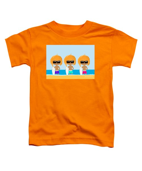 The Surfing Triplets Toddler T-Shirt