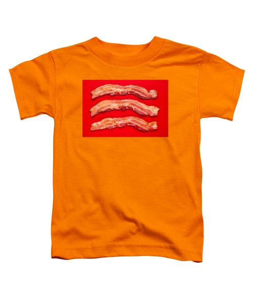 Thick Cut Bacon Toddler T-Shirt