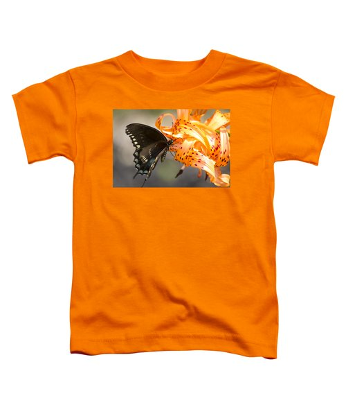 This Butterfly Loves Tiger Lilies Toddler T-Shirt