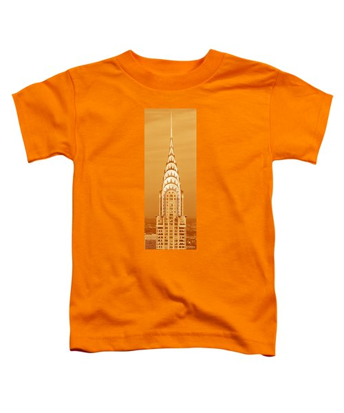 Chrysler Building At Sunset Toddler T-Shirt by Panoramic Images