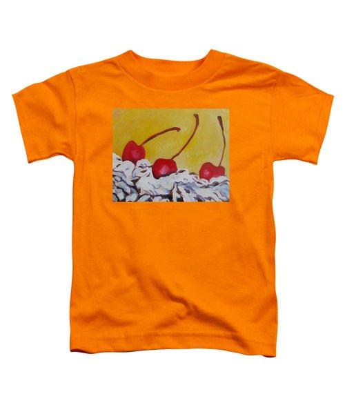 Three Cherries Toddler T-Shirt