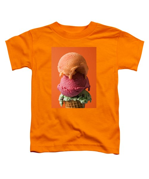 Three Scoops  Toddler T-Shirt