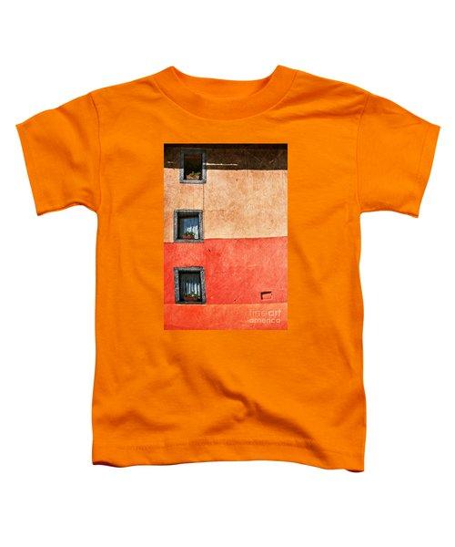 Three Vertical Windows Toddler T-Shirt