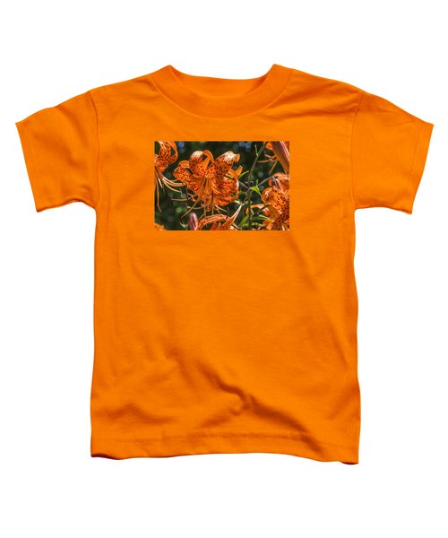Tiger Lilies In The Sun Toddler T-Shirt