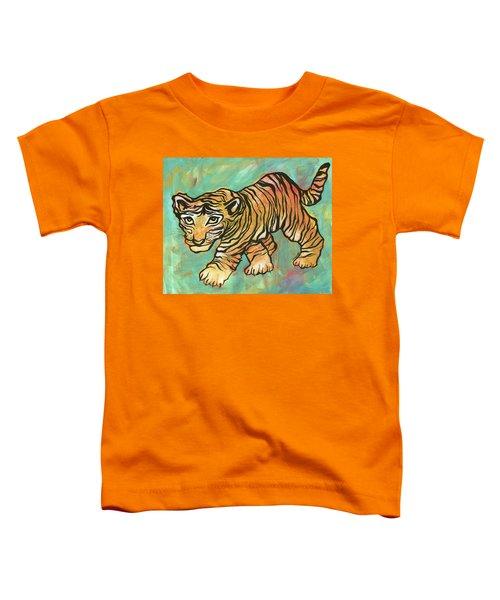 Tiger Trance Toddler T-Shirt